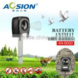 Aosion Newest with flashing battery effective ultrasonic electronic dog repeller with led light