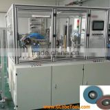Automatic flap disc making machine for T29 and T27 prodcuing