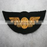 Us navy uniform wing | Hand embroidered jacket aircrew wing badge