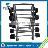 Alibaba China Fitness Equipment Olympic Rubber Barbell