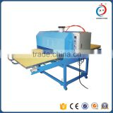 INquiry about JC-8A Large format pneumatic press machine fabrics heat press machine
