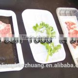 Supermarket Display Customizable Eco Friendly Plastic Packaging Tray For Frozen Food