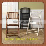 Outdoor Leisure Garden Bamboo Folding Chairs