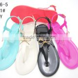 2016 Wholesale Fashion ladies shoes Jewelly Crystal Sandals And Slippers Shoes Women Plastic Jelly Shoes                                                                         Quality Choice