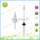 Christmas tree sod motion stake solar led stake light