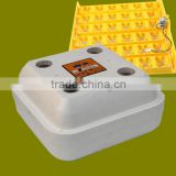 Super quality fully automatic temperature control and humidity control 42 eggs incubator