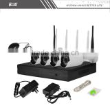 Plug and Play Wireless NVR Kit P2P 720P HD Outdoor IR Night Vision Security IP Camera WIFI CCTV System