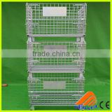 heavy duty wire mesh container,nesting mesh roll container,large wire mesh container