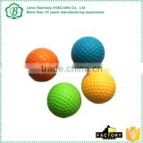 pu stress golf balls with custom logo printed                                                                         Quality Choice