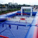 Cheap table football, High quality Customer-Made inflatable human table football for sale