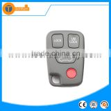 high quality 3+1 button without logo remote key shell including one red button for volvo 940 xc90s40 s60 v70
