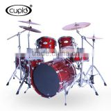 High grade 6pcs maple burl wood drum set