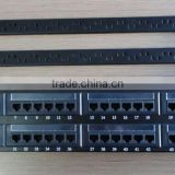 OWIRE Cat.6 Patch Panel,24 Port, LSA IDC