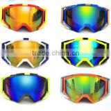 Professional High Quality Customized Double Layer Adult Windproof Anti-fogging UV Protect TPU Ski Goggles