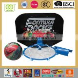 Basketball Hoop for kids with cars pattern basketball ring