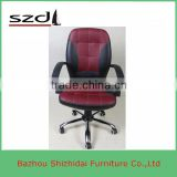 Wholesale vintage furniture red caster wheel with spring office chair SD-8210