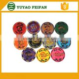 ceramic light poker chips custom poker chips board game chips