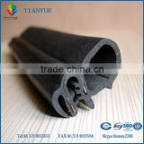 car epdm rubber compound seal strip solid and sponge weatherstrip with steel-belt