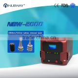Portable Q Switch ND Yag Laser 532nm / Nd:yag Laser Tatoo Removal Machine Laser Tattoo Removal Equipment