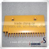 Nice appearance hot sale plastic escalaor comb plate for escalator parts