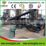 Stamping biomass chipped coconut shell briquette machine
