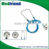 Factory Direct Sales All Kinds Of Transparent Sprague Rappaport Type Stethoscope With Colourful Tube