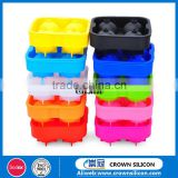 silicone ice cube New Fashion baby food freezer wholesale silicone ice cube