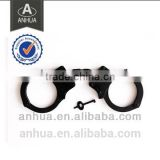 Military NIJ standard chain carbon steel & nickel plated police handcuff