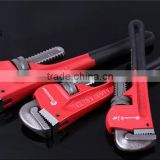 # 45 Carbon Steel Factory Supply Pipe Clamp European Style Hand Tools Quickly Dipped Plastic Pipe Clamp/ Wrench
