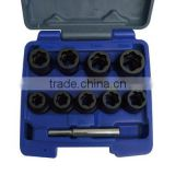 "10Pcs 1/2"" Dr. Tiger Bite Socket Set"