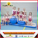 DWF wholesale inflatable jumping air tumble track tumble track inflatable air mat for gymnastics trampoline mat for sale