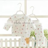 2017 Fashion design baby clothing set 100% cotton kids sleeping suits baby night suits long sleeves