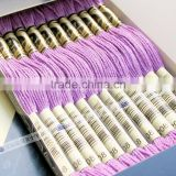 cotton threads cross stitch thread for embroidery /sewing 100% cotton thread floss dmc color