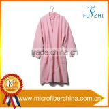 Wholesale Waffle Woven Fancy Kids Microfiber Bar Robes Bathrobe