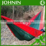 outdoor rest use high quality factory directly sales cheap price polyester single camping use hammock