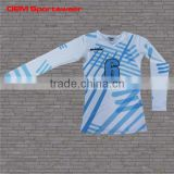 High quality sublimation volleyball jersey long sleeve