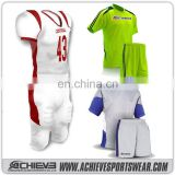 2017 New arrival Wholesale top quality custom soccer uniforms school uniform design soccer jerseys for team