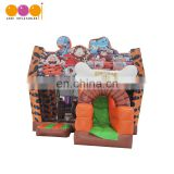 Funny hot-selling animals fun world jumping bouncer inflatable slide
