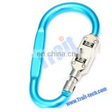 CR-22B Blue Hook Shaped Mini 3 Digit Resettable Combination Lock Password Lock Padlock from China