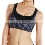 Hot Sexy Custom Sublimation Printed Ladies Yoga Bra Wholesale Dry Fit OEM Women Sports Bra#S150036