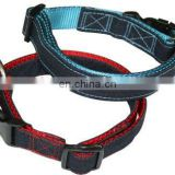 1 layer woven dog collar & dog leash