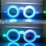 wholesale alibaba express double sided waterproof neon optical shop sign/flashing led glasses