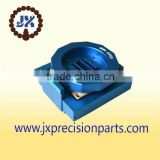 Augusta Blue anode high quality aluminium alloy CNC machine processing precision custom parts