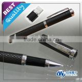carbon fiber stylus Pen Drive for corporate gift