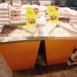 Supermarket foodstuff rice container