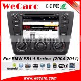 Wecaro WC-BM7205 Android car GPS Stereo For BMW E81 E82 E87 E88 1 Series 2004 - 2011 with radio mirror link