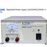 DC regulated Power Supply for Fishing boat Input 110/220VAC Output 12VDC 18A marine power supply