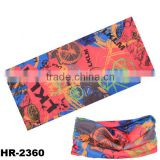 New products 2016 hair accessories fabric cheap seamless multifunctional wholesale bandana