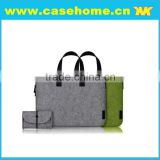 Portable belt felt bag cases for tablet , felt tote bags for tablet OEM/ODM, tablet felt sleeves