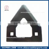 Upper Serrated Knife Blade for Lawn Mower